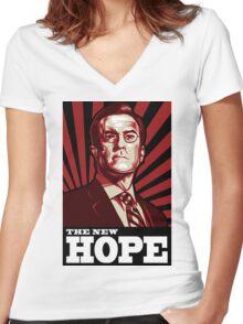 The New Hope - Stephen Colbert for President 2012 Women's Fitted V-Neck T-Shirt