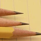 Three Pencils on Legal Pad by Robert Armendariz