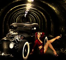 Mayhem inspired by Imelda May by Andrew (ark photograhy art)
