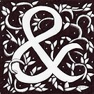 Ampersand (William Morris Inspired) by Donna Huntriss