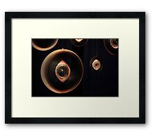 Spinning in the Wind Framed Print
