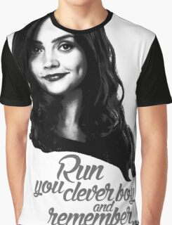 Clara Oswald/Run... Graphic T-Shirt