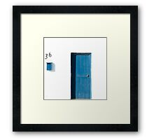 Three & Six - 36 Framed Print