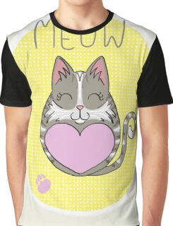 Tiggle Cat Graphic T-Shirt