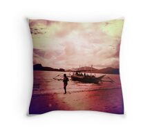 El Nido, Philippines Throw Pillow