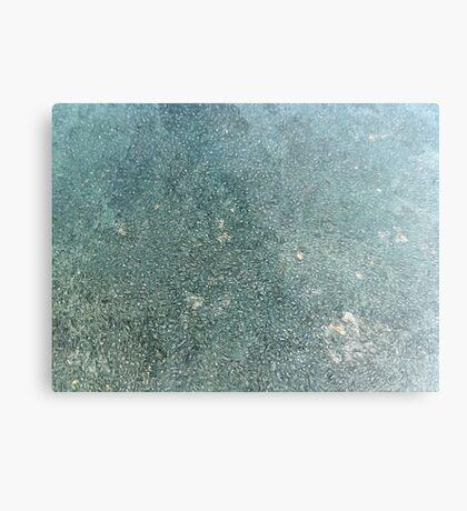 Frost patterns Metal Print