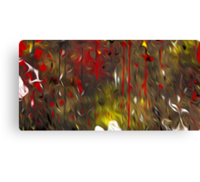 Abstract Colors Oil Painting #64 Canvas Print