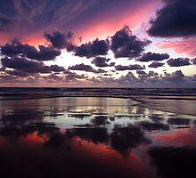 Sunrise at Double Island Point by Steve Bass