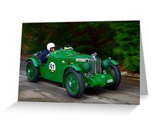 MG K3 1933 Greeting Card