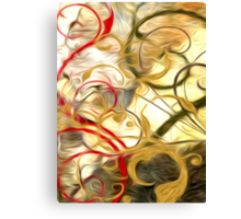 Abstract Colors Oil Painting #61 Canvas Print