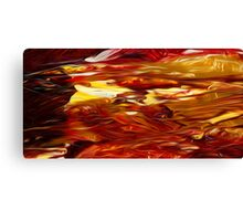 Abstract Colors Oil Painting #50 Canvas Print