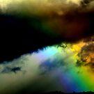 Fighting in the sky. 2 by Turi Caggegi