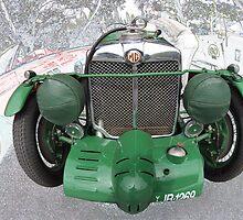MG K3 1933 by Geoffrey Higges