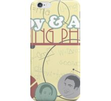Troy and Abed Doing Physics iPhone Case/Skin