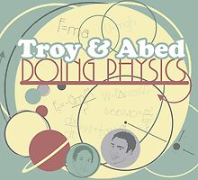 Troy and Abed Doing Physics by TEWdream