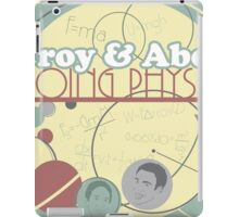 Troy and Abed Doing Physics iPad Case/Skin