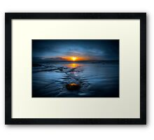Spine Wave Framed Print