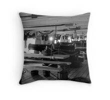 Below Decks 2 Throw Pillow