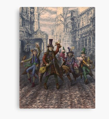 Rowdies of Suidemor Canvas Print