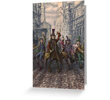 Rowdies of Suidemor Greeting Card