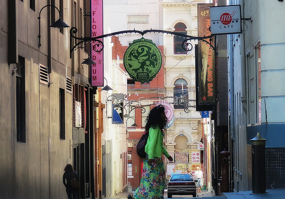 colours of my city by Maree Cardinale