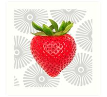 Berry Burst Art Print