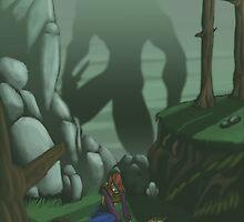 Alone In The Forest by Luis Diez Hernandez
