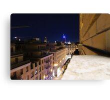 Turin Cityscape Canvas Print