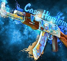 AK-47   Case Hardened  by Gamers