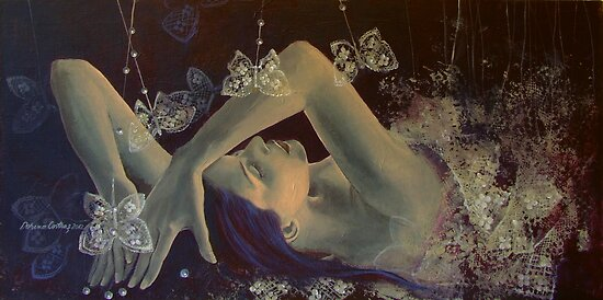 Weaving lace wings... by dorina costras