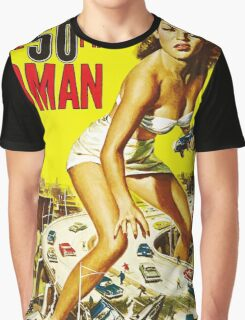 Attack of the 50ft Woman poster Graphic T-Shirt