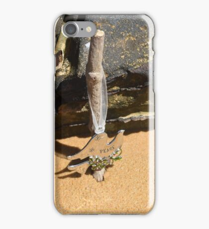 Christmas at the Beach 15 iPhone Case/Skin