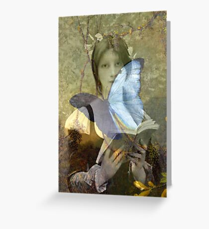 Butterflies do not lie Greeting Card