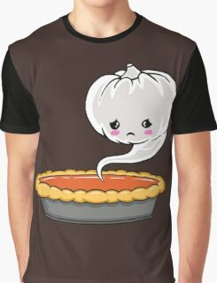 Sad Pumpkin | Cute Pumpkin Ghost  Graphic T-Shirt