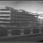 Speeding to Munchen Hbf by Dimbledar