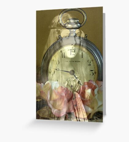 Time's passages Greeting Card
