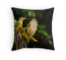 Wings 1 Throw Pillow