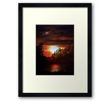 Night Fall Framed Print