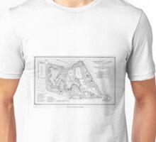 Vintage Map of Prospect Park (1901) Unisex T-Shirt