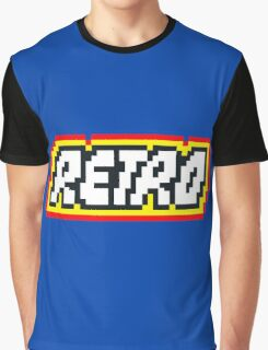 Retro | 8 Bit 80s Geek Graphic T-Shirt