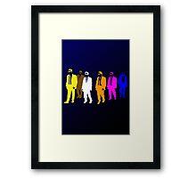 Reservoir Colors with Mr. Blue Framed Print