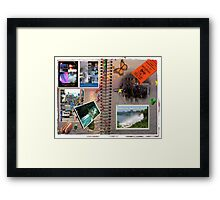 The  Scapebook Framed Print