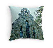 Green Granite of The Church of St. Luke, the Beloved Physician Throw Pillow