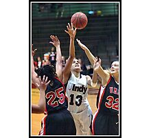 Missouri-St. Louis vs UIndy 4 Photographic Print