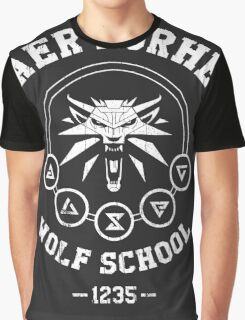 Kaer Morhen Wolf School Graphic T-Shirt
