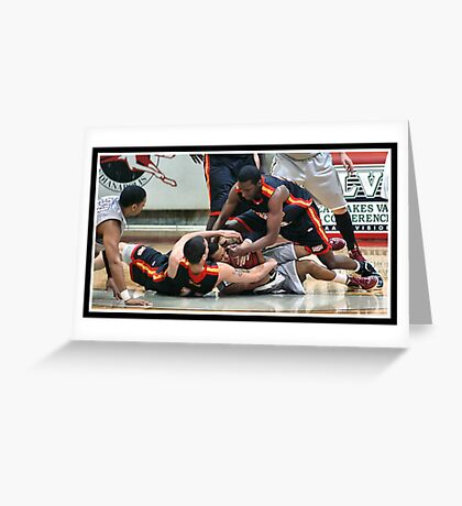 UIndy vs Missouri-St. Louis Mens 1 Greeting Card