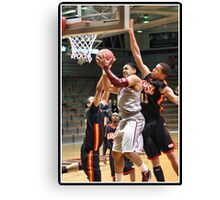 UIndy vs Missouri-St. Louis Mens 4 Canvas Print