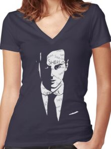 Moriarty's Obsession Women's Fitted V-Neck T-Shirt