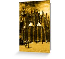 St. Vitus Cathedral, Prague Greeting Card