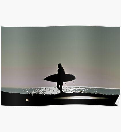 Lone Surffer Poster